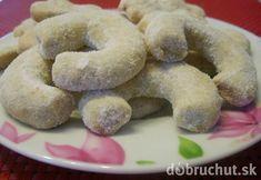 """""""Vanilkové rožky"""" or """"Vanilla Cookies"""" Czech Recipes, Vanilla Cookies, Christmas Baking, Christmas Gifts, Shortbread, Original Recipe, Bagel, Doughnut, The Best"""