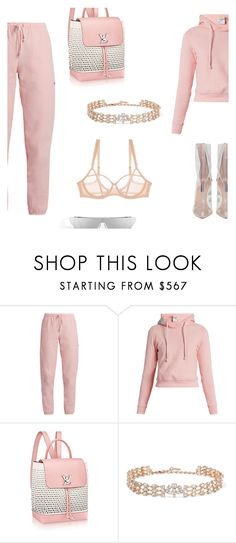 """""""Just enough madness to make her interesting."""" by lucieednie ❤ liked on Polyvore featuring Vetements, Oscar de la Renta and Adina Reay"""