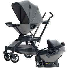 Orbit Baby G3 Travel System Limited Edition Porter Collection, Heather Grey