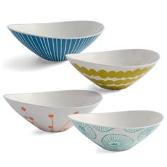 Jansdotter Bowl Set Of 4