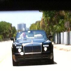 Rolls Royce convertible...;-)