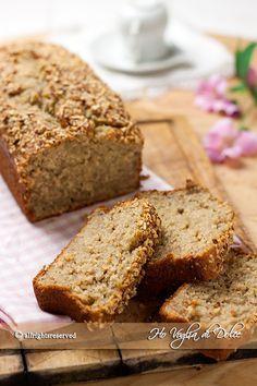 Banana bread o pane alle banane è un plumcake facile e veloce da realizzare perfetto per consumare le banane troppo mature. Un dolce ideale per la colazione e la merenda