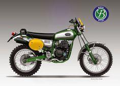 Motosketches: BYLOT SIX DAYS 350