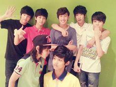 Seventeen~ Ming Ming, Junghan, Seokmin, Wonwoo, Hansol, Samuel and Dongjin