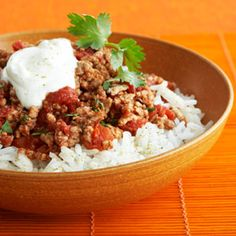 ground turkey recipes.... Because I feel like we always have ground turkey in the house