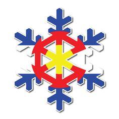 Colorado Sticker | Colorado Flag Sticker | Snowflake Sticker – Fearless State