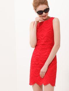 Ажурное платье из хлопка - Платья | LIMÉ