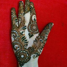 50 Most beautiful Surat Mehndi Design (Surat Henna Design) that you can apply on your Beautiful Hands and Body in daily life. Simple Arabic Mehndi Designs, Indian Mehndi Designs, Mehndi Designs 2018, Mehndi Designs For Girls, Modern Mehndi Designs, Mehndi Design Pictures, Unique Henna, Mehndi Simple, Mehandi Designs Images