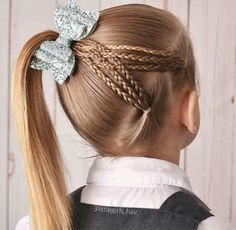 Best Womens Hairstyles For Fine Hair – HerHairdos Easy Toddler Hairstyles, Cute Little Girl Hairstyles, Baby Girl Hairstyles, Princess Hairstyles, Braided Hairstyles, Girls Hairdos, Fine Hair, Hair Dos, Hair Designs