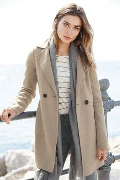 I have this coat, would love to wear a lot this winter!  Need some pieces to go with.