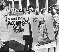 Women's Movement protests Miss America