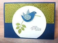 Stampin' Up! Australia Independent Demonstrator - Aussie Stampers : Betsy's Blossoms Fun and Fresh Card - Stampin' Up!...