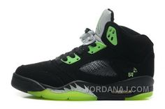 http://www.jordanaj.com/australia-girls-air-jordan-5-v-retro-shoes-black-green.html AUSTRALIA GIRLS AIR JORDAN 5 V RETRO SHOES BLACK GREEN Only 88.74€ , Free Shipping!
