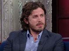 "Casey Affleck Gets Stoned At ""The Late Show""? - http://www.healthaim.com/casey-affleck-gets-stoned-late-show/42121"