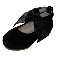 Melitta Mary Jane fury flat - Black