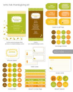 Free thanksgiving printables!!