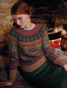 Anatolia by Marie Wallin So, have you seen Rowan Magazine 54 yet? I finally got my hands on a copy yesterday and there are some wonderful designs in there. My two favourites are probably Anatolia b…