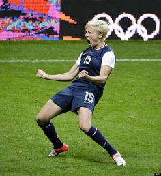 Photo of the day: Megan Rapinoe | finishers