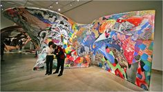 Frank Stella: Painting Into Architecture - Art - Review - New York Times