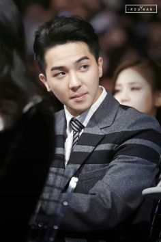 Yeah people I think I'm in love with song mino