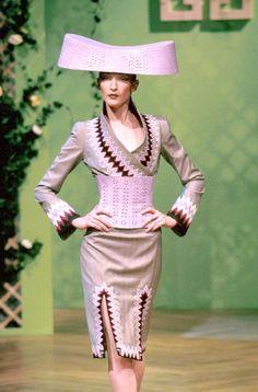 Alexander McQueen for Givenchy Spring 1999