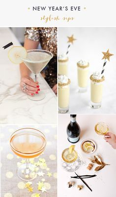 Oh the lovely things: 20+ Last Minute Ideas For New Year's Eve
