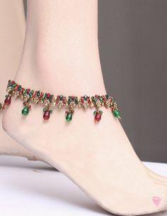 Indian Payal Anklets | Indian Anklet-Pazeb-Payal