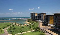 Darwin Waterfront Precinct The Darwin Waterfront Precinct is a tourist area in Darwin, Northern Territory, Australia. Restaurants, bars, a wave pool and a man-made beach are available for local community and tourists. It is located five minutes' walk from the Darwin Central Business District (CBD). The Darwin Waterfront... # # # #Landmarks  #traveltips #backpackers #sights