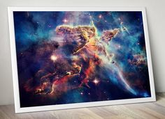 Outer Space Poster Art Print, Hubble Nebula Poster, Fine Art Photography, Inspirational Poster, Gift Idea, FREE SHIPPING by DareToDreamPrints on Etsy https://www.etsy.com/listing/219928234/outer-space-poster-art-print-hubble
