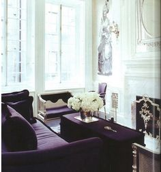 Decorating With Purple - 25 Gorgeous Interior Design Pictures - Style Estate -