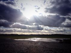 Gorgeous dramatic sky at Cley-next-the-sea beach on Sunday! #Bigskies #Norfolk
