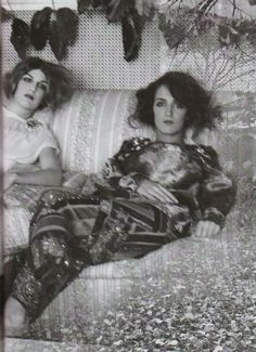 Deborah Turbeville (1932-2013) Week: Cornelia and Bianca Brandolini D'Adda: a great allure, VOGUE Italia, March 2009