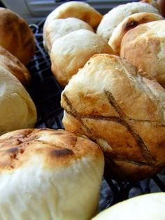 Roosterbrood, a delicious South African bread to go with a braai.