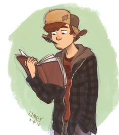 "*NAME SPOILERS FOR JOURNAL 3* Mason ""Dipper"" Pines <3 I love his name it's perfect"