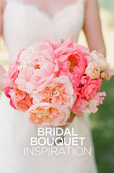 Check out our selection of over 100 beautiful bridal bouquets in different styles, shapes and color.