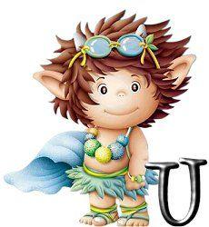 Alfabeto de lindos duendes traviesos. | Oh my Alfabetos!