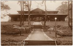 Mess Hall. Teachers Camp, Baguio, Mt. Province, Philippine Islands