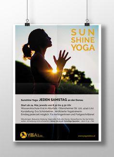 Yoga is bliss - Sunshine Yoga on Behance