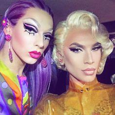 Violet Chachki & Miss Fame