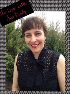 White Tree Fabrics - Lace and Fabric Crochet Necklace, Fabrics, News, Creative, Blog, Tejidos, Blogging, Cloths, Fabric