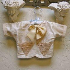 Infant Newborn Silk Baby Jacket Coat by JackieSpicer on Etsy
