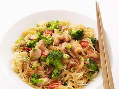 Get Chicken-Broccoli Stir-Fry Recipe from Food Network