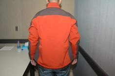 That's a really clean jacket for someone who claims that their head was being banged on the ground by Trayvon Martin.