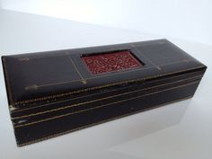 Vintage Cedar Jewelry Box by RetroAlleyVintage on Etsy, $19.00