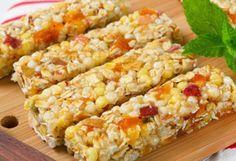 ELIMINAR : Barras de granola o energéticas, cereales de caja (con o sin azúcar añadida), granola, pan blanco comercial.