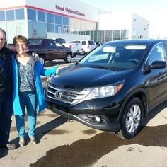 Congratulations Les on your great looking 2013 Honda CR-V EX AWD! Enjoy!