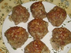 Porcupine meatballs with cheese www.averyaames.com