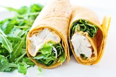 Chicken and Spinach Wrap