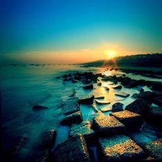 Potenga Beach, Chittagong, Bangladesh-the large rectangular bricks are so unusual to see.