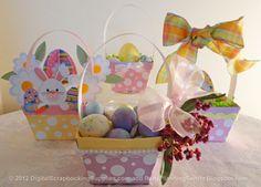 printable #Easter basket templates from http://digitalscrapbookingsupplies.com/easter-printables/